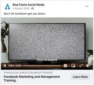 Video Posts on Facebook